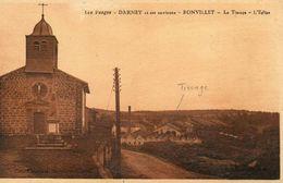 CPA - Environs De DARNEY (88) - BONVILLET - Aspect De L'Usine De Tissage Dans Les Années 30 - France