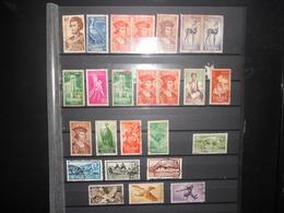 Collection , Lot De 25 Timbres Obliteres Des Colonies Espagnol - Spain