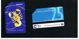 POLONIA (POLAND) - TP  -  ZODIAC, HOROSCOPE, SCORPIO     - USED - RIF. 10236 - Polonia