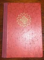 Mitgliedsbuch-Die Deutsche Arbeitsfront-1.1.1935-Hamburg - 1939-45