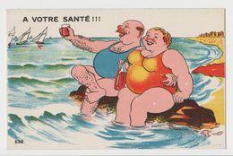 CPSM Humour - A Votre Santé !!! N°538 - Edition Gaby - Humour