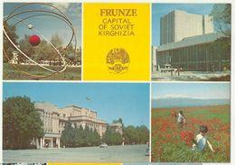 Frunze Capital Of Soviet Kirghiza Poopy - Kyrgyzstan