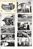 """Nieuwpoort S.V.V. Antwerpen Home """" De Sinjoorkens"""" Mapje Met 10 Kleine Kaarten (volledig) - Nieuwpoort"""