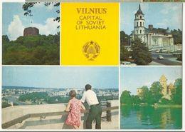 Vilnius Capital Of Soviet Lithuania - Lithuania