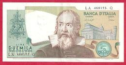 Italie, 2000 Lire, Type Galileo, Galilée, 1976, TTB - [ 2] 1946-… : Républic