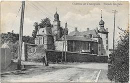 Trazegnies NA74: Château De Trazegnies. Façade Latérale 1920 - Courcelles