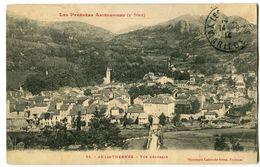 CPA 09 Ariège Ax-les-Thermes Vue Générale - Ax Les Thermes