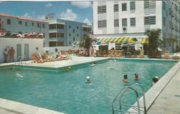 Atlantic Towers. Hotel & Cabana Club. Miami Beach Florida.  S-2964 - Hotels & Restaurants