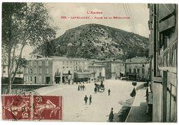 CPA 09 Ariège Lavelanet Place De La Révolution Animé - Lavelanet