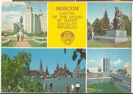 Kishinev Capital Of Soviet Moldavia - Moldova