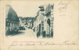76 CANY BARVILLE /  La Grande Rue Et  Les Halles / - Cany Barville