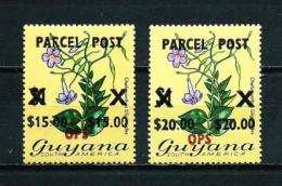 Guyana  Nº Yvert  Servicio Paquete Postal-1/2 (sobrecarga OPS) En Nuevo - Guyana (1966-...)