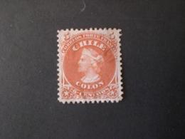 CILE CHILE 1867 Cristoforo Colombo - Chile