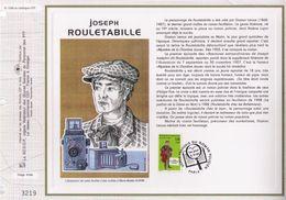 FEUILLET CEF TIRAGE LIMITE, JOSEPH ROULETABILLE, 1996 - Cinema