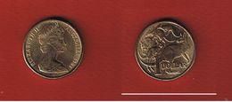 Australie  -  1 Dollar 1984  -  Km # 77  -  état SUP - Victoria