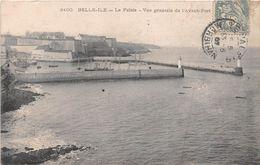¤¤  -  BELLE-ILE-en-MER   -  LE PALAIS  -  Vue Générale De L'avant-Port     -  ¤¤ - Belle Ile En Mer