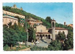 S.MARINO -  VEDUTA + FRANCOBOLLI  - VIAGGIATA   FG - San Marino