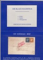 Replik - Folder Blaue Mauritius Mit Dem Berühmten Bordeaux Brief Mit Geschichte - Philatelie & Münzen