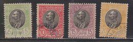SERBIA Scott # 88-91 Used - Serbia