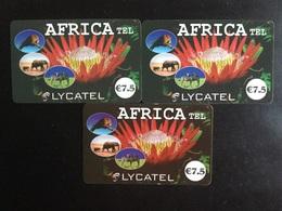 CARTE PREPAYEE AFRICATEL - Prepaid Cards: Other