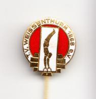 GYMNASTICS WEISSENTHURM 1968  ENAMEL - Gymnastics