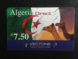 CARTE PREPAYEE ALGERIA DIRECT - Prepaid Cards: Other