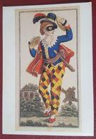 TAROT DES COSTUMES TURCS. INDUSTRIE COMPTOIR - Four Ou Excuse - Leipzig 1820 - Tarocchi - Carte Da Gioco