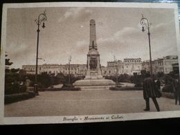 Bisceglie Monumento Caduti   Usata 1934 - Bisceglie