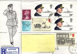 GB+ Großbritannien 1982 1984 Mi 922 1000-01 Viscount Cunningham, Postkutschen (UNIKAT / ÙNICO / PIÉCE UNIQUE) - 1952-.... (Elizabeth II)