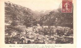(66) Pyrénées Orientales - CPA - Vernet-les-Bains Le Paradis Des Pyrénées - Vue Panoramique - France