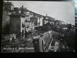 San Marino Panorama  Usata 1955 Con 10 Lire Fiori Isolato - San Marino