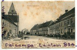 - Gruss Aus Harskichen - ( Bas-Rhin ),gutenbrunnenstrasse, Attelage, Précurseur, écrite, 1905, BE, Scans. - France