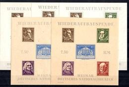Allemagne/Thuringe Blocs-feuillets YT N° 3 (2) Et N° 3A (3) Neufs ** MNH. TB. A Saisir! - Zone Soviétique