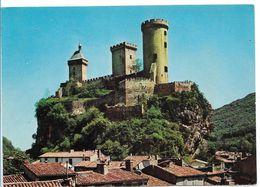 09 FOIX CHATEAU DES COMTES DE FOIX  CARTE ECRITE N°125 - Foix