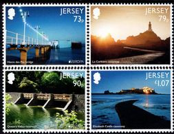 Jersey - 2018 - Europa CEPT - Bridges And Causeways - Mint Stamp Set - Jersey
