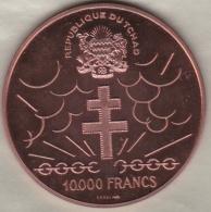 République Du Tchad 10 000 Francs Essai ND (1970) Général De Gaulle , 4000 Exemplaires - Chad