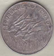République Du Tchad 100 Francs 1980, Cupro Nickel , KM# 3 - Tsjaad