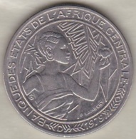 Afrique Centrale (BEAC) . 500 Francs 1979 D Gabon , En Nickel .KM# 12 - Gabon