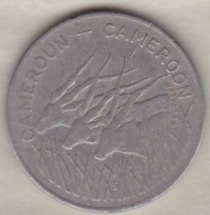 CAMEROUN – CAMEROON . 100 Francs 1983 ,  En Nickel .KM# 17 - Cameroon