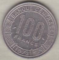 CAMEROUN – CAMEROON . 100  Francs 1972 ,  En Nickel .KM# 16 - Cameroun