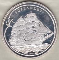 République Du Benin, 1000 Francs CFA 2006 Bateau Trois Mâts Sörlandet . Argent - Benin