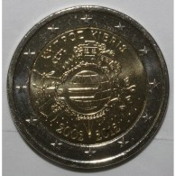 CHYPRE - 2 EURO 2012 - 10 ANS DE L'EURO - SUPERBE A FLEUR DE COIN - Cyprus