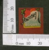 India Vintage Trade Label Fancy Boquet Essential Oil Label # 3294 - Etiquettes