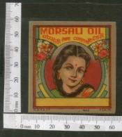 India Vintage Trade Label Morsali Essential Oil Label Women # LBL63 - Etiquettes