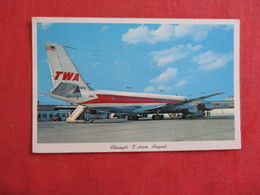 TWA   At Chicago O'Hare Airport   .ref 2898 - 1946-....: Moderne