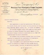 ANGLETERRE BIRMINGHAM COURRIER 1924 Fruit Merchants & Flower Salesmen GREGORY   A27 - United Kingdom