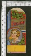 India Vintage Trade Label Brahmi Essential Hair Oil Label Women # LBL65 - Labels