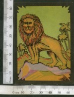 India Vintage Trade Label Lion Blank Label Wildlife Animal # LBL69 - Etiquettes