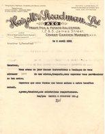 ANGLETERRE LONDON COURRIER 1925 Fruit Pea And Potato Salesmen HAZELL & STEADMAN   A27 - United Kingdom