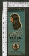 India Vintage Trade Label Cosmoline Essential Hair Oil Label Women # LBL80 - Labels